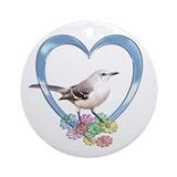 Bird Round Ornaments