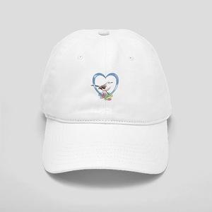 Mockingbird in Heart Cap