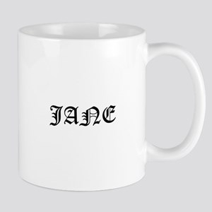Jane Bdb Dagger Logo Mugs