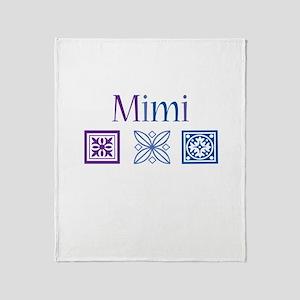 Mimi Craft Throw Blanket