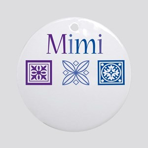 Mimi Craft Ornament (Round)