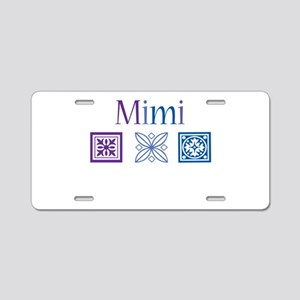 Mimi Craft Aluminum License Plate