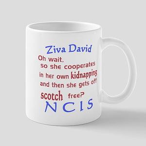 NCIS Ziva Quote: Scotch Free Mug