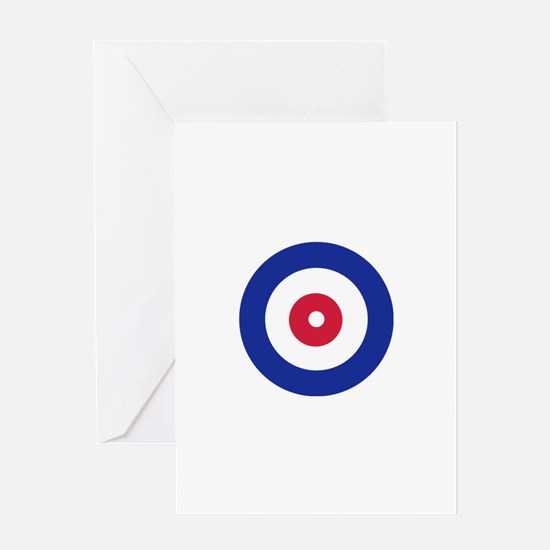 Curling Greeting Card