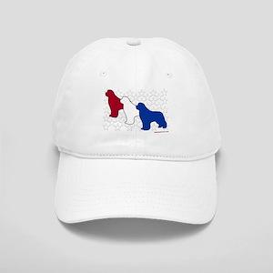 Patriotic Newfies Cap