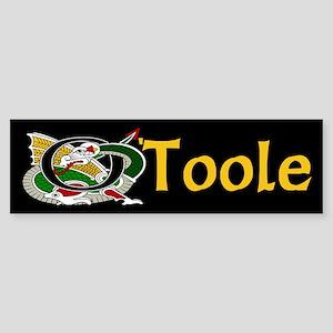O'Toole Celtic Dragon Bumper Sticker