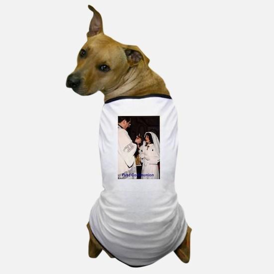 Cute First holy communion Dog T-Shirt