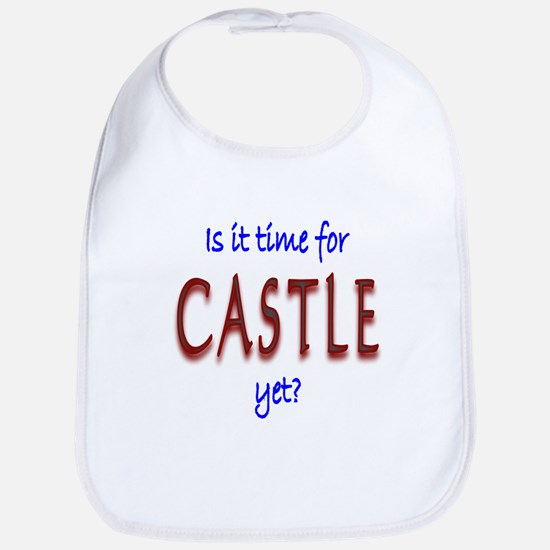Time For Castle Bib