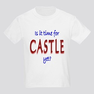 Time For Castle Kids Light T-Shirt