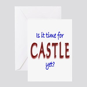 Time For Castle Greeting Card