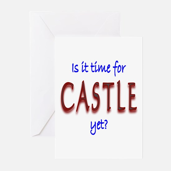 Time For Castle Greeting Cards (Pk of 10)
