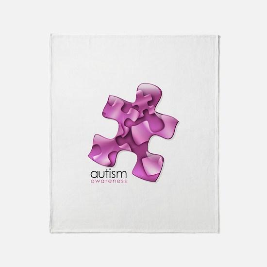 PuzzlesPuzzle (Pink) Throw Blanket