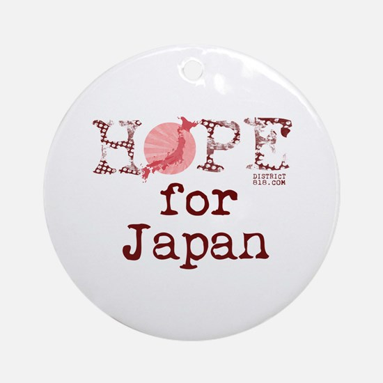 JAPAN RELIEF 2011 Ornament (Round)