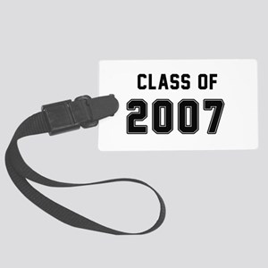 Class of 2007 Black Luggage Tag