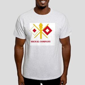 DUI-SIGNAL COY WITH TEXT. Light T-Shirt