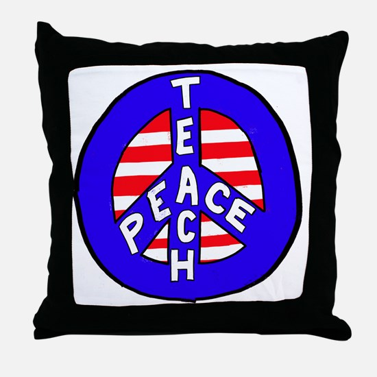 Cool Coexist Throw Pillow