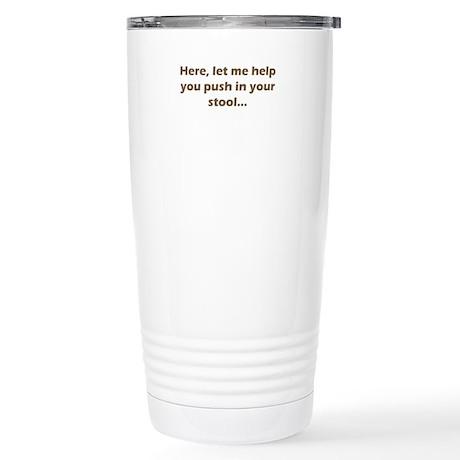 Need Help? Stainless Steel Travel Mug