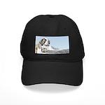 Saint Bernard Black Cap with Patch