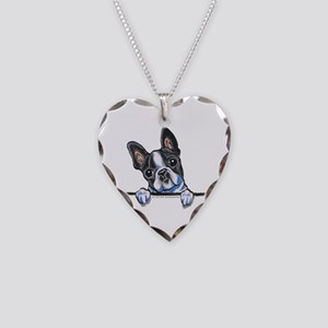 Curious Boston Necklace Heart Charm