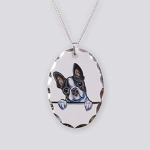 Curious Boston Necklace Oval Charm