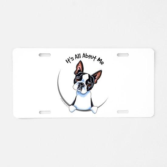 Boston Terrier IAAM Aluminum License Plate