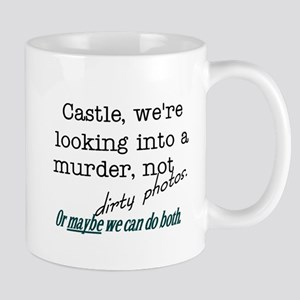 Castle: Murder and Dirty Photos Mug