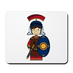 Cute Little Roman Soldier Mousepad