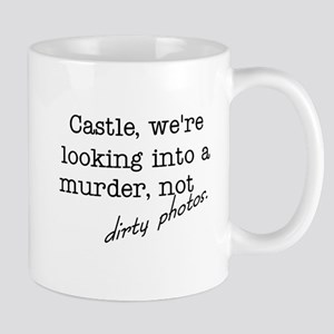 Castle: Not Dirty Photos Mug