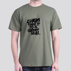 Chasm - Take It To A Deeper Level Dark T-Shirt