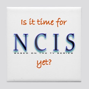 Time for NCIS? Tile Coaster