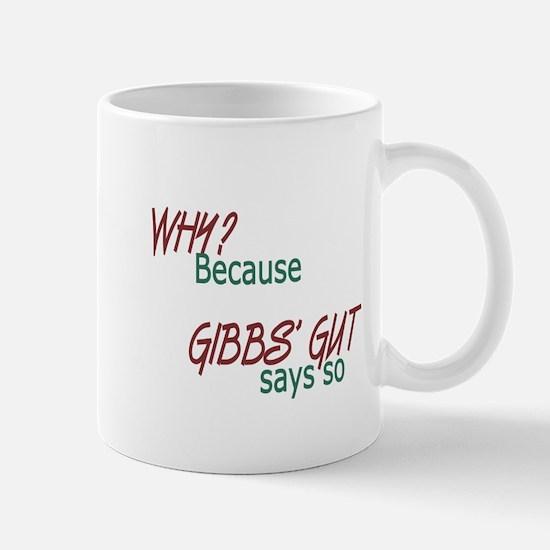 NCIS: Gibbs' Gut Mug