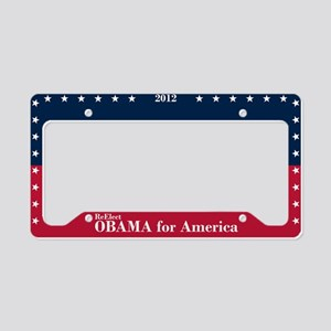 Barack Obama for America License Plate Holder