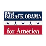Barack Obama for America 38.5 x 24.5 Wall Peel