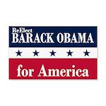 Barack Obama for America 22x14 Wall Peel