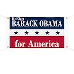 Barack Obama for America Banner