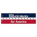 Barack Obama for America Sticker (Bumper 10 pk)