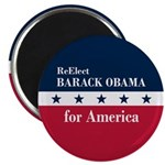 Barack Obama for America Magnet