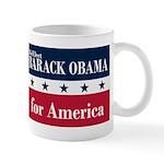 Barack Obama for America Mug