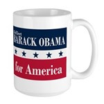 Barack Obama for America Large Mug