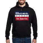 Barack Obama for America Hoodie (dark)