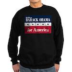Barack Obama for America Sweatshirt (dark)