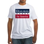 Barack Obama for America Fitted T-Shirt