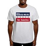 Barack Obama for America Light T-Shirt