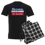 Barack Obama for America Men's Dark Pajamas