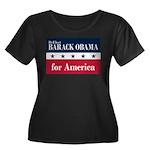 Barack Obama for America Women's Plus Size Scoop N