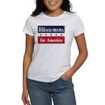 Barack Obama for America Women's T-Shirt
