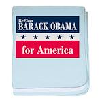 Barack Obama for America baby blanket