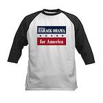 Barack Obama for America Kids Baseball Jersey