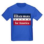 Barack Obama for America Kids Dark T-Shirt