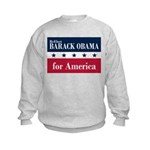 Barack Obama for America Kids Sweatshirt
